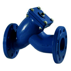 Strainers with Flanged Ends